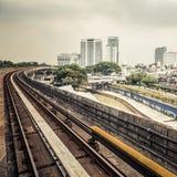 Urban rail transit in Kuala Lumpur, Malaysia Royalty Free Stock Photos