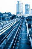 Urban rail transit in Kuala Lumpur, Malaysia Stock Image
