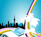Urban rainbow Royalty Free Stock Image