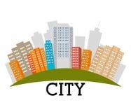 Urban real estates Royalty Free Stock Photos