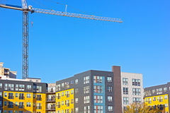 Urban residential development in Northern Virginia, USA. Stock Images