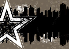Urban retro background design Royalty Free Stock Images