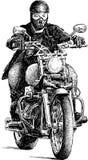 Urban rider Royalty Free Stock Images