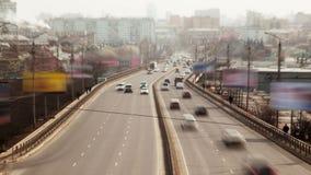Urban Road stock video footage