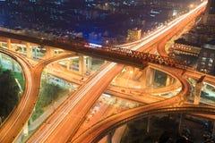 Urban road landscape Stock Photography