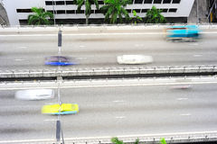 Urban road, Singapore Royalty Free Stock Image