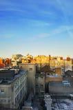 Urban Rooftops Royalty Free Stock Photos