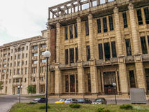 Urban ruins in Bucharest Royalty Free Stock Photography