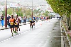 Urban runners Stock Photos