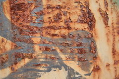 Urban rust texture. In brown and grey Royalty Free Stock Photography