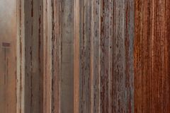 Urban Rusted Metal Poles Close Up Royalty Free Stock Photography