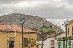 Urban Scene Alausi Town Ecuador Royalty Free Stock Photos