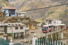 Urban Scene Alausi Town Ecuador Royalty Free Stock Photo