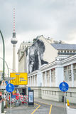 Urban scene in Berlin Royalty Free Stock Images