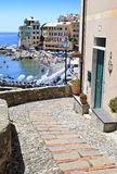 Urban scene in Bogliasco Royalty Free Stock Images