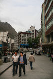 Urban scene in danba,sichuan,china Royalty Free Stock Photos