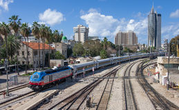 Urban scene in Haifa - Israel Royalty Free Stock Photos