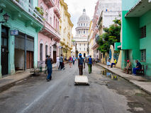 Urban scene in Havana Stock Photos