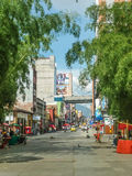 Urban Scene of Medellin Colombia Royalty Free Stock Image
