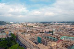 Urban scene of Rome Stock Image