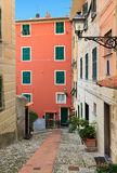 Liguria - Sori. Urban scene in Sori, small village in Liguria, Italy Stock Image