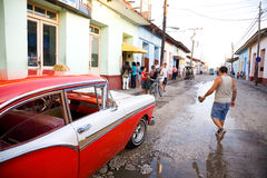 Urban scene, Trinidad, Cuba Royalty Free Stock Photography