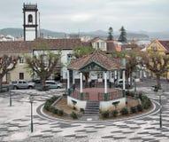 Urban scenery at Ribeira Grande Royalty Free Stock Images