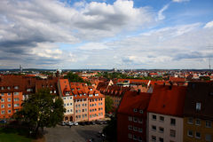 Urban scenes,Nuremberg germany 2011 Stock Images