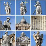 Urban scenes of the Vatican Stock Photography