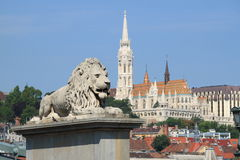 Urban scenic in Budapest Stock Images