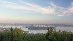 Urban Scenic Cityscape View Vancouver BC Canada Stock Image