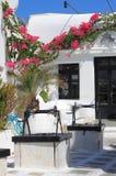 Urban scenic of Mykonos Stock Photo