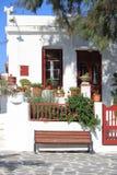 Urban scenic of Mykonos Stock Images
