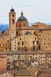 Urban scenic of Urbino. Italy - HDR Royalty Free Stock Photos