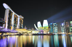 Urban Scenics: Marina Bay, Singapore Stock Photos
