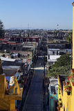 Urban Scenics Streets - Colorful Streets from Little Town, Mexico Royalty Free Stock Image