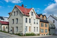 Urban scenics of Tromso, Norway Royalty Free Stock Photo
