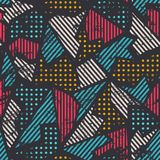 Urban seamless pattern Stock Photos