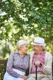 Urban seniors Royalty Free Stock Images