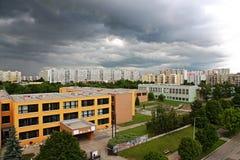 Urban settlements Royalty Free Stock Photography