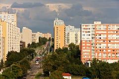 Urban settlements Royalty Free Stock Image