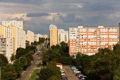 Urban settlements Stock Images