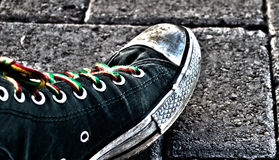 Urban Shoe stock photography