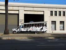 Urban sightseeing bus Royalty Free Stock Image