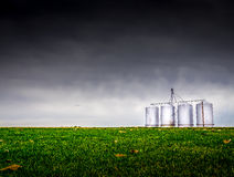 Urban Silo Stock Photo