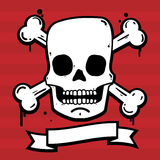 Urban Skull Stock Image