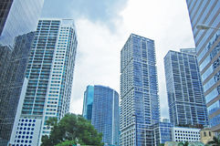 Urban sky Stock Photo