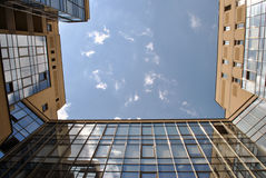 Urban sky. Royalty Free Stock Image