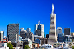Urban skyline, downtown San Francisco Stock Photo