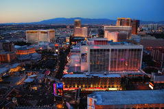 Urban skyline, Las Vegas, Nevada Stock Photo